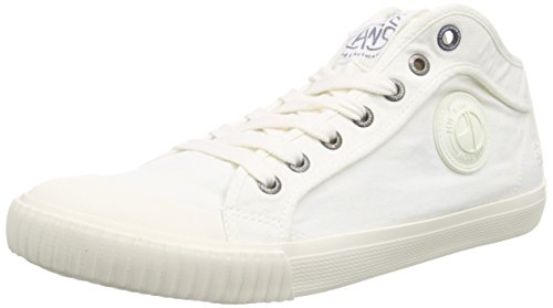 Pepe Jeans London Herren Industry Off White High-Top Weiß (803OFF WHITE)
