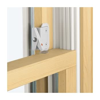 Defender Security U 9929 Double Hung Wood Window Flip Lock