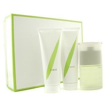 Calyx by Prescriptives for women 3 Pc Set 1.7 oz EDT Spray 1.7 oz EDT Spray + 3.4 oz Body Lotion + 3.4 oz Shower & Batch Gel by Prescriptives