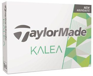 Taylor Made TaylorMade Ladies Kalea White Golf Balls #1-#4 12-Ball Pack