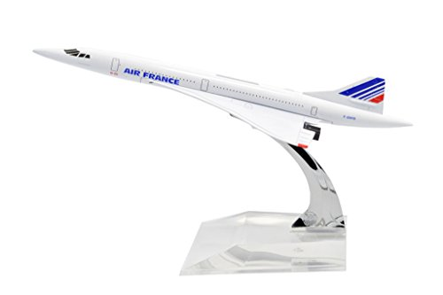 Tang Dynasty Tm  1 400 16Cm Concorde Air France Metal Airplane Model Plane Toy Plane Model