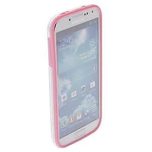 Plastic Bumper Frame Hard Case Cover for Samsung Galaxy S4 I9500 , White