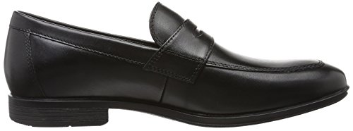Rockport Style Conncected Penny, Mocasines para Hombre, Negro (Negro Leather), 40 EU