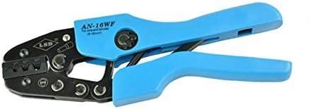 ケーブルカッター ワイヤエンドフェルール用 圧着ペンチ ラチェットクリンパ 6〜16mm² ハンド圧着工具 手動ケーブルカッター