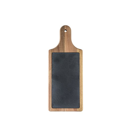 Twine 6663 Rustic Farmhouse Slate And Wood Paddle Medium Multicolor