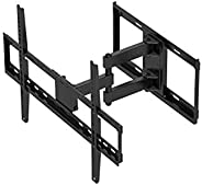 Monoprice Titan Series Full-Motion Articulating TV Wall Mount Bracket - for TVs Up to 70in Max Weight 77lbs VESA Patterns Up