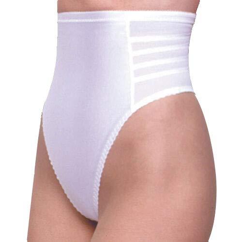 Brief Panties Rago High Waist (Rago Style 900 - High Waist Firm Shaping Thong, 2XL/34 White)
