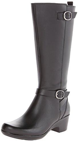 Malia Leather Women's Clarks Poplar Black w8v56q