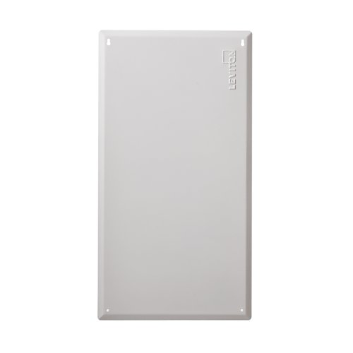 Leviton 47605-F28 SMC 28-Inch Series, Structured Media Flush Mount Cover, White ()