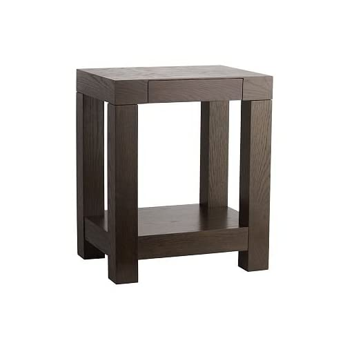 Amazoncom West Elm Parsons End Table Chocolate Oak Veneer - West elm parsons end table