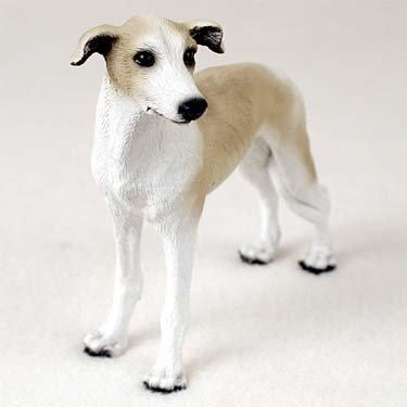 Greyhound Dog Figurine - Tan