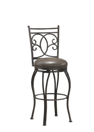 American Heritage Billiards Nadia Counter Height Stool, Coco