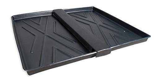 (UltraTech 2371 Polyethylene Rack Containment Two Tray, 16 Gallon Capacity, 44