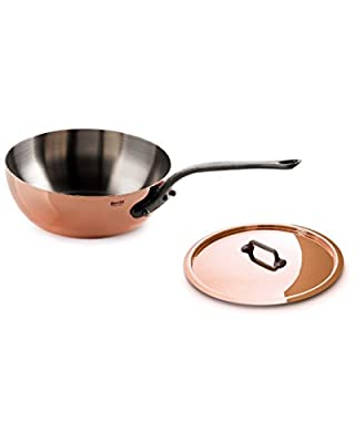 Mauviel M'150 7.8In Covered Saute Pan