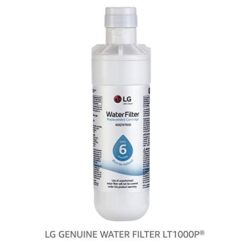 LG LT1000P Refrigerator Water