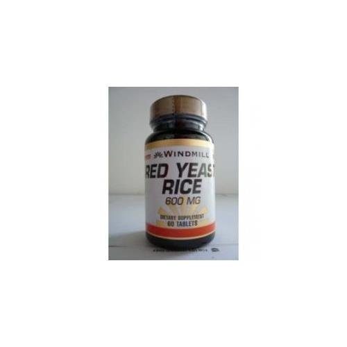 Windmill Red Yeast Rice 600 mg 60 Tablets - 2
