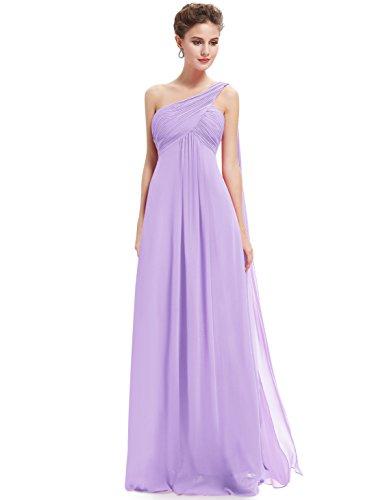 Ever-Pretty HE09816, Vestido de fiesta sin mangas, Mujer Púrpura (Light Purple)