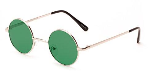 Sunglass Warehouse | The Dune Sunglasses - Round - Metal Frame - Men & - Sunglass Warehouse