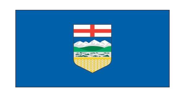 ***ALBERTA CANADA VINYL FLAG DECAL STICKER***