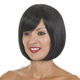 Surprising Amazon Com Black Bob Hairstyle Wig From Hair By Misstresses Short Hairstyles Gunalazisus