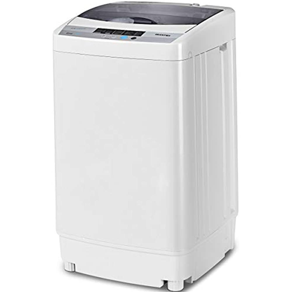 Portable Compact Full-Automatic Washing Machine 1.6 Cu.ft