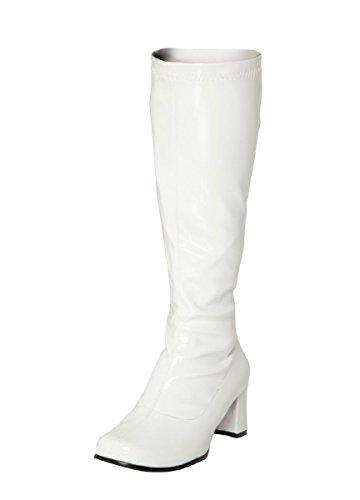 Gizelle Mujer A De Deporte Botas tallas 3 12 Para Patent Blanco white rIqr7