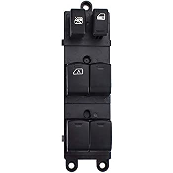 Driver Side Master Power Window Switch for Nissan Pathfinder 2005 2006 2007 2008, Replace OE# 25401-9W100 25401-ZP40B