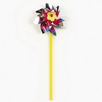 Fun Express Rainbow Pinwheel Set (3 Dozen) ()