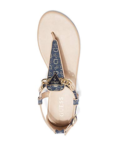 48b68e0f02b5 GUESS Factory Women s Siara Logo Sandals