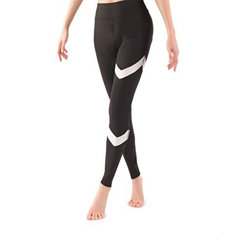 8db53dc86cecb Beforly Workout Yoga Leggings for Women High Waist Ankle Length Yoga Pants  Tummy Control(Black
