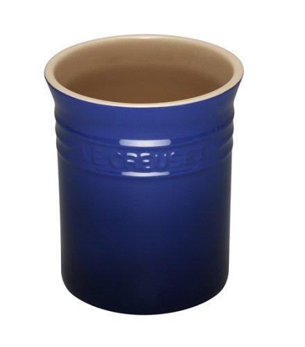 Le Creuset Stoneware Utensil Jar, Small, Graded Blue