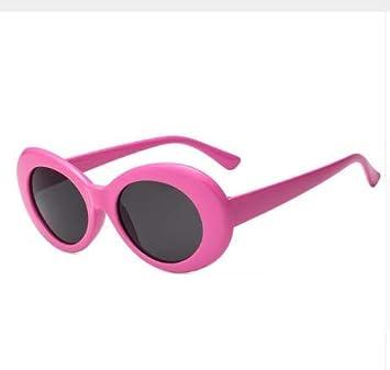 LONYENMA Gafas De Sol Vintage Ovaladas para Mujer Gafas para ...