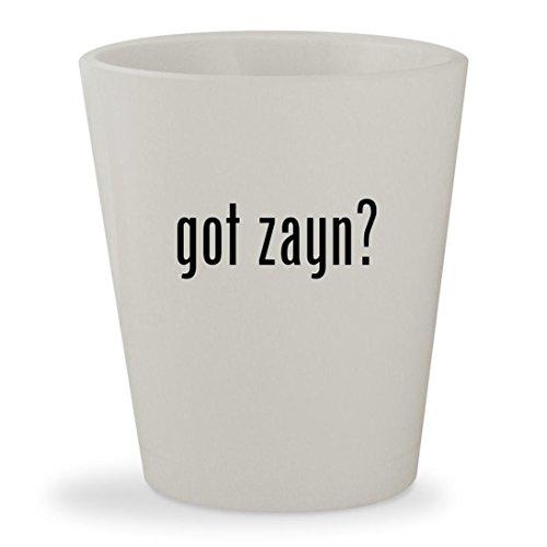 got zayn? - White Ceramic 1.5oz Shot Glass