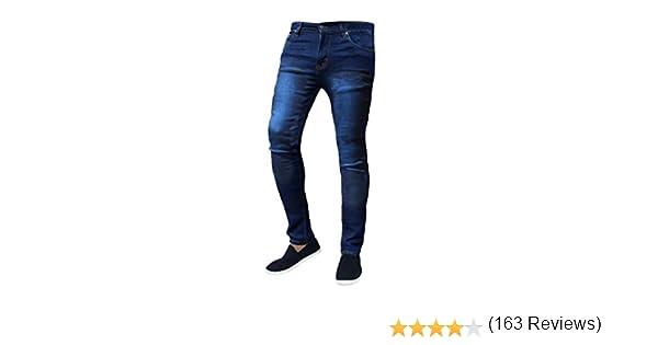 Gingto Pantalones Vaqueros Elasticos Para Hombre Hombre Vaqueros