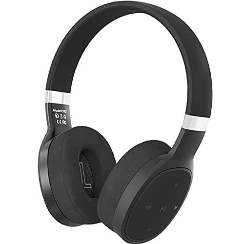 DAHAKII Noise Cancelling Headphones Wireless Over-Ear Headphones Bluetooth 5.0 Headphones with Microphone 6H Playtime…