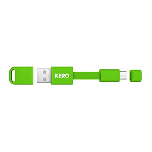 "Nomad Cable - 3"" High Speed Micro USB 2.0 Cable for your Key Ring"
