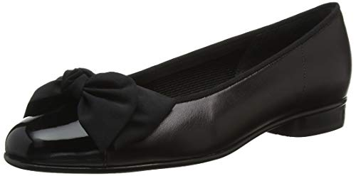 black patent Shoes Bailarinas Gabor Black Cuero Mujer 05 Leather De 106 8vxxqa6wP