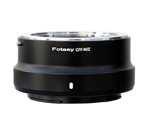 Fotasy Contax CY Lens to Nikon Z Adapter, Adapter for Nikon Z6 Z7 Contax Yashica C/Y Lens, Compatible with Nikon Z6 Z7 Full Frame Mirrorless Camera, ()