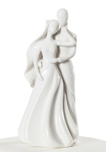 Wedding Collectibles Silhouette of Love Cake Topper Figurine ()