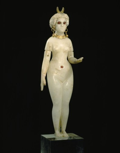 Wallmonkeys NGO-11161-30 WM280096 A Babylonian Alabaster Statue Depicts Ishtar Peel and Stick Wall Decals (30 in H x 24 in W), Medium-Large ()