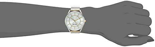 Nine West Women's NW/1922 Mesh Bracelet Watch 2