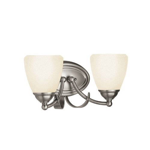 Antique Pewter Finish Chandeliers (5239AP Lombard 2LT Vanity Fixture, Antique Pewter Finish with White Marble Glass)