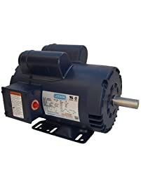 5hp 3450rpm 145t 230v replacement air compressor motor leeson electric motor