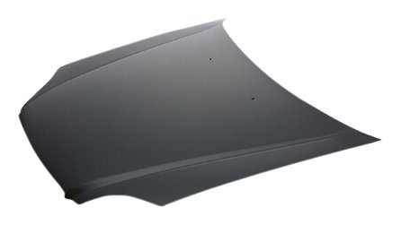 OE Replacement Honda Civic Hood Panel Assembly (Partslink Number - Civic Hood 2000 Honda