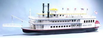 Creole Queen Wooden Boat Kit by Dumas by Dumas