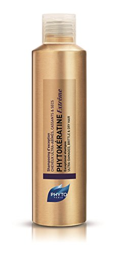 PHYTOKÉRATINE EXTRÊME Botanical Exceptional Shampoo | Ultra-Weak, Damaged, Brittle, Dry Hair | Provide Nutrition & Shine, Restore Elasticity, Reduce Breakage | Baobab Oil | Sulfate Free, Paraben Fre