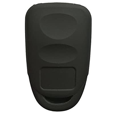 Coolbestda 2Pcs Silicone 3buttons Smart Key Fob Remote Skin Cover Protector Keyless Entry Case for Hyundai Elantra Genesis Sonata Kia Sorento Forte Optima Rondo Spectra: Automotive