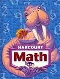 Harcourt Math, Grade K, Harcourt School Publishers Staff, 0153347465