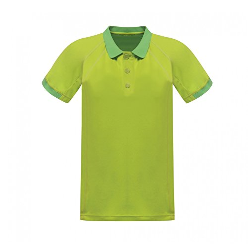 Regatta - Hardwear - Coolweave - Polo a Manica Corta - Uomo (XL) (Bianco)