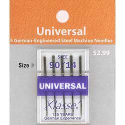 Klasse' Universal Needles Size 90/14